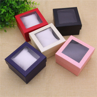Creative Design Packaging Paper Watch Boxes Cases with Window