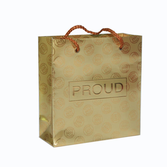 China Shopping Bag with Cotton Handlers