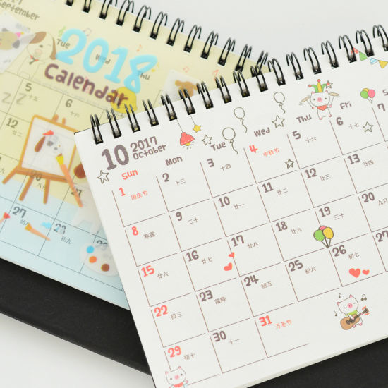 2018 Desk Printing Calendar, Calendars Planners, Table Calendar Printing