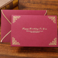 Luxury Custom Handmade Paper Wedding/Greeting/Invitation Cards Printing