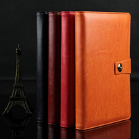 High Quliaty PU Leather Notebook Printing with Lock
