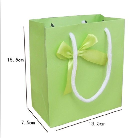 High Quality Cardboard Shopping Hand Package Bag, Gift Bag