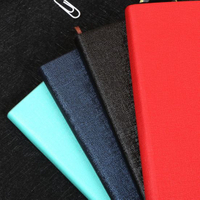 Office and School Stationery Custom Flexible Binding PU Leather Notebook
