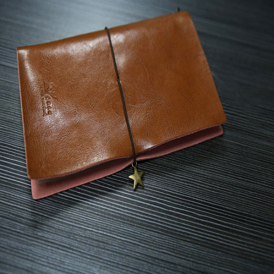 Hot Sales PU Leather Notebook with Rubber Band